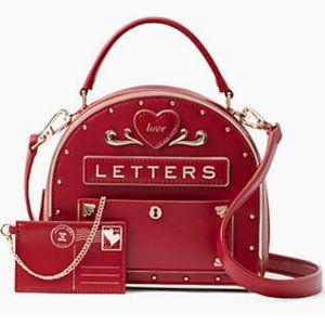 kate spade yours truly mailbox purse bag nwt RARE